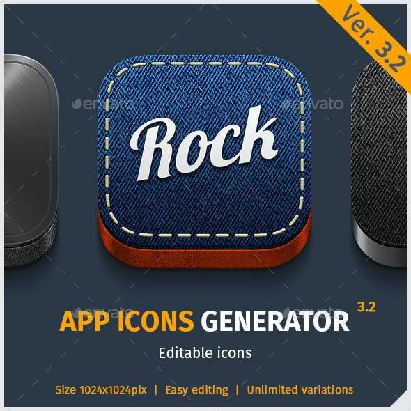 App Icon Generator V.3.2