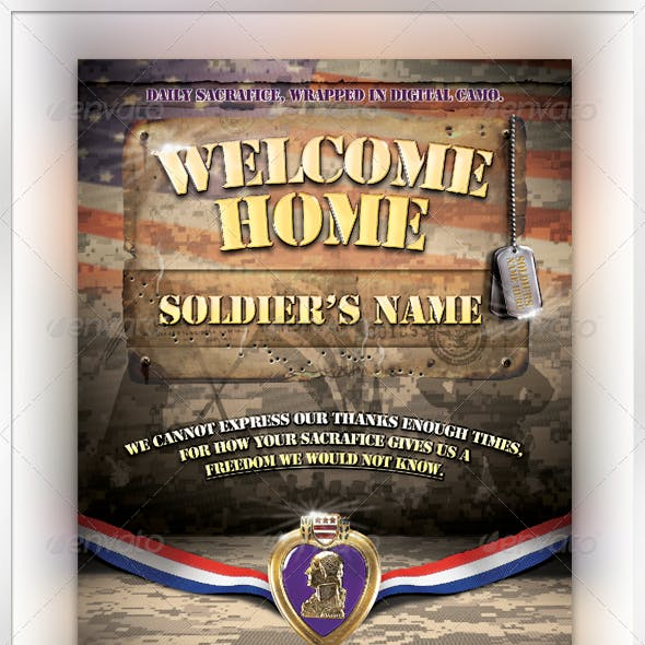 Welcome Home Soldier Flyer