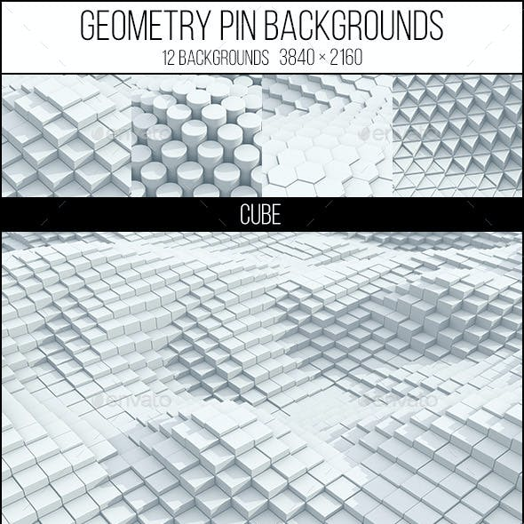 Geometry Pin Backgrounds