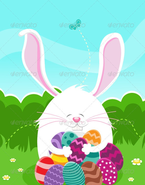 Easter Egg Hunt - Animals Characters