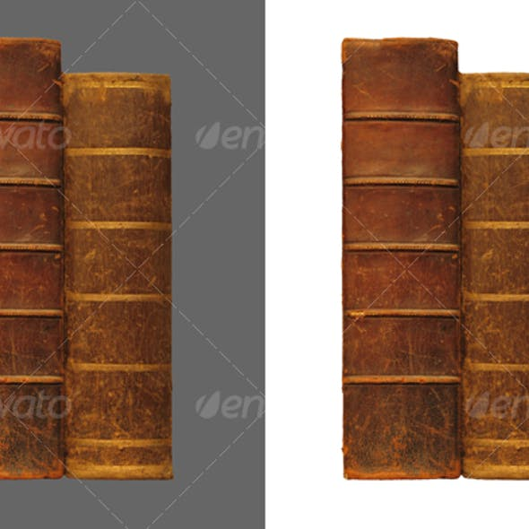 Two antique books