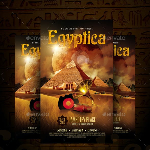 Egyptica Flyer