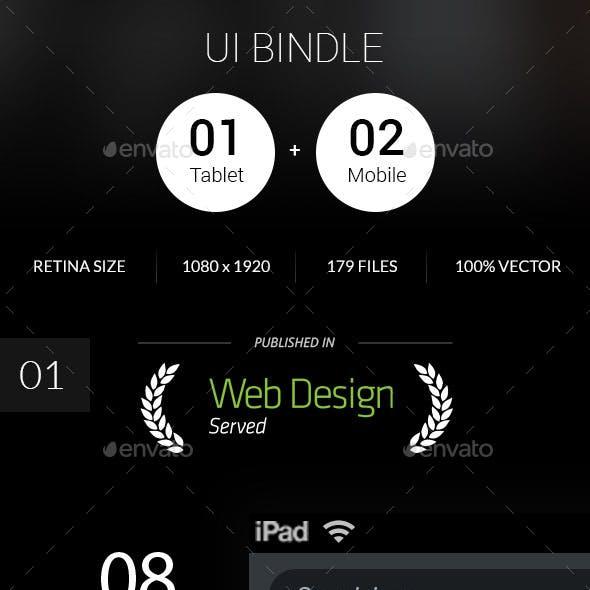 Bundle - Mobile & Tablet Ui