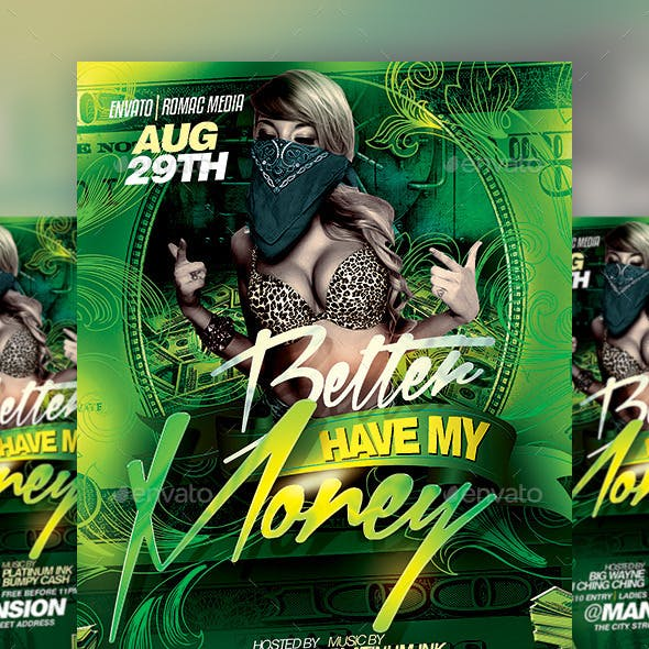 Money Party Flyer
