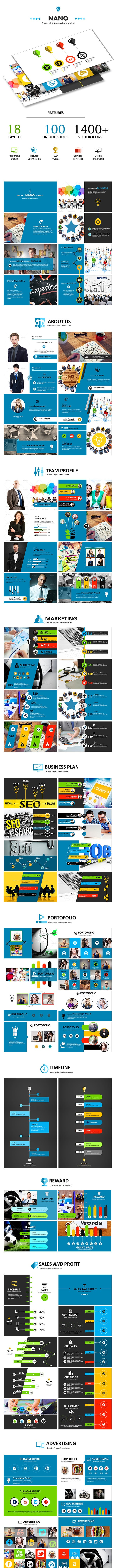 NANO - Powerpoint Business Presentation - Abstract PowerPoint Templates