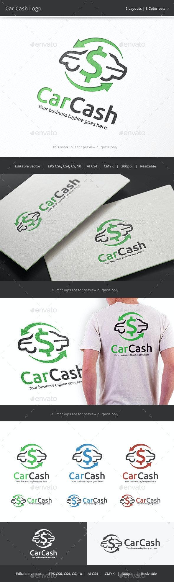 Car Cash Logo - Objects Logo Templates