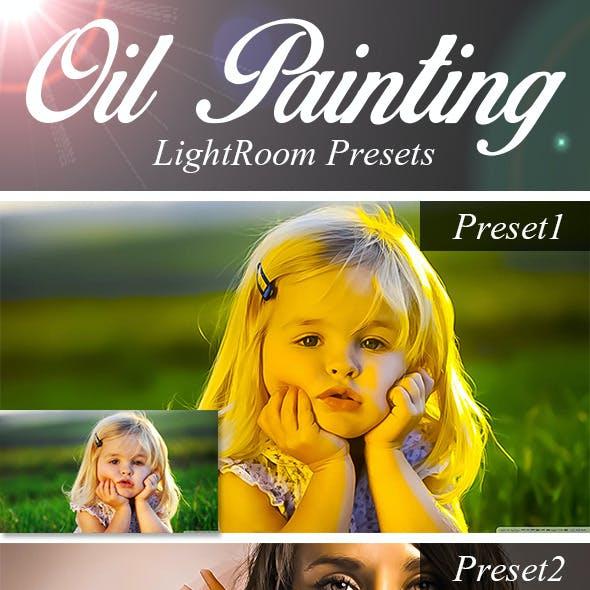 Oil Painting LightRoom Presets