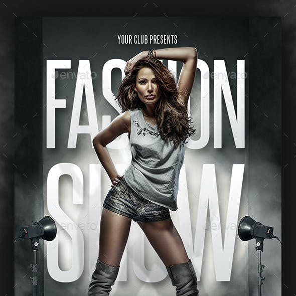 Fashion Show Flyer Template