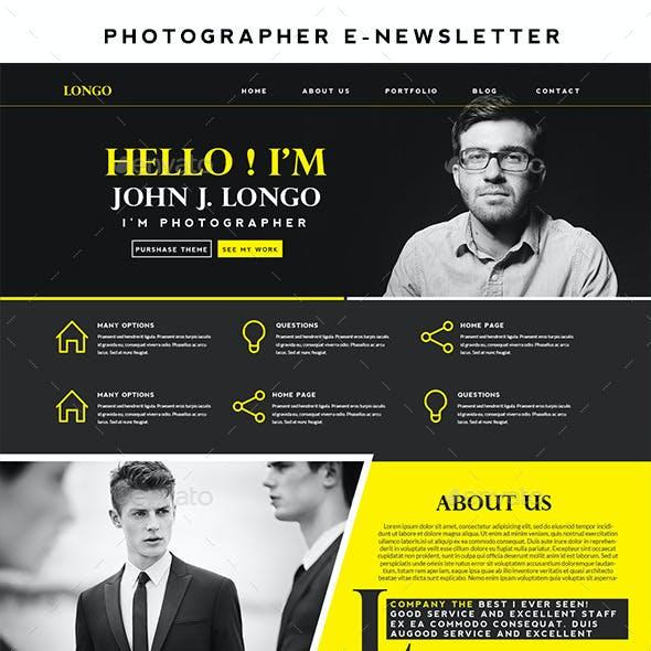 Longo    Photographer E-Newsletter
