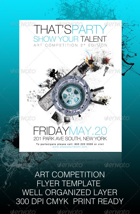 Show Your Talent - Art Competition - Clubs & Parties Events