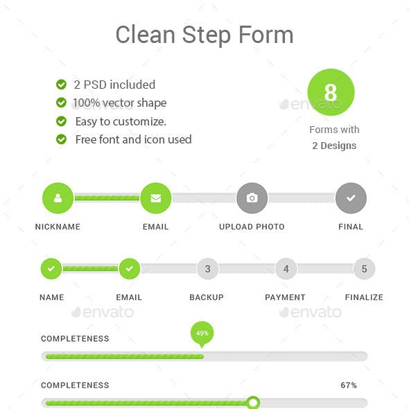 Step Forms