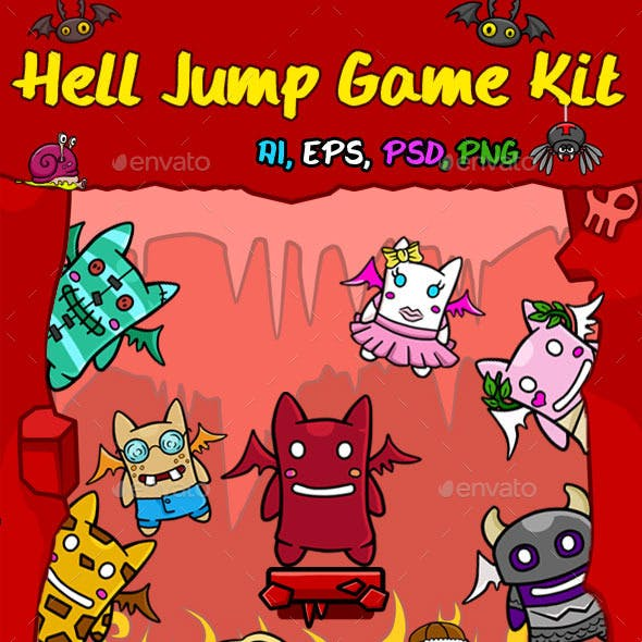 Hell Jump Game Kit