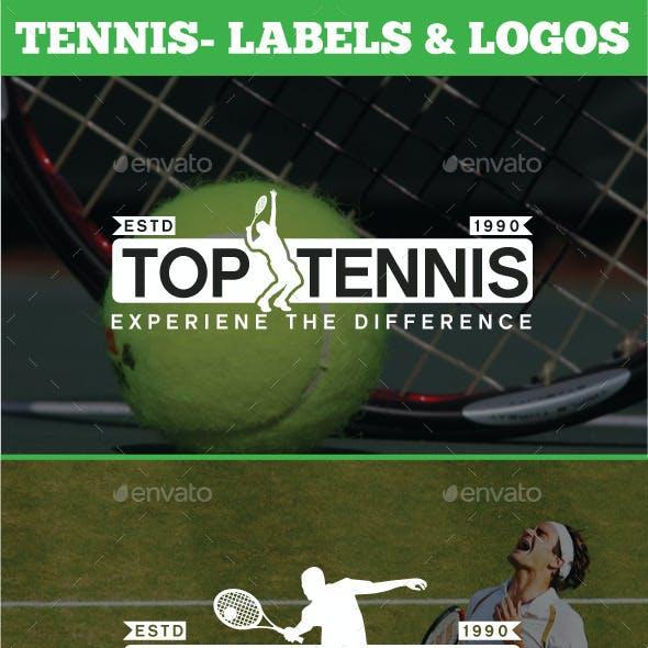 12 Tennis - Labels & Logos