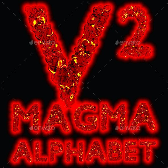 Magma Alphabet