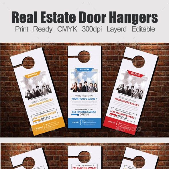 3 Corporate Door Hangers Bundle