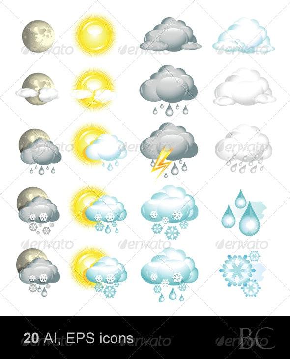Weather Icons - Web Icons