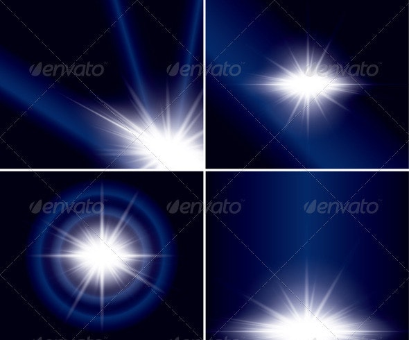 Abstract Backgrounds with Flash for Design - Backgrounds Decorative