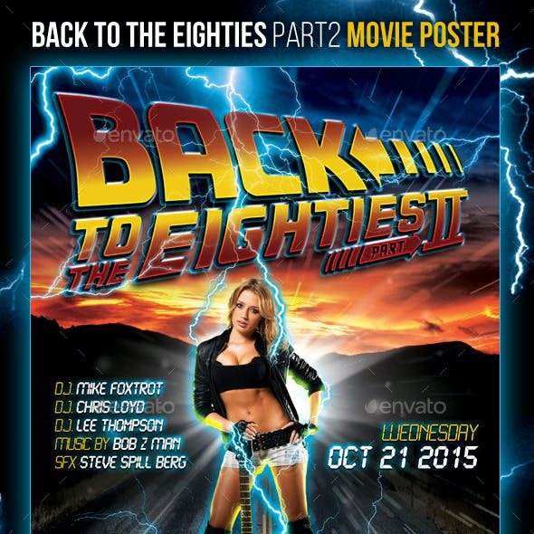 Back To The Eighties - Part 2 Movie Poster
