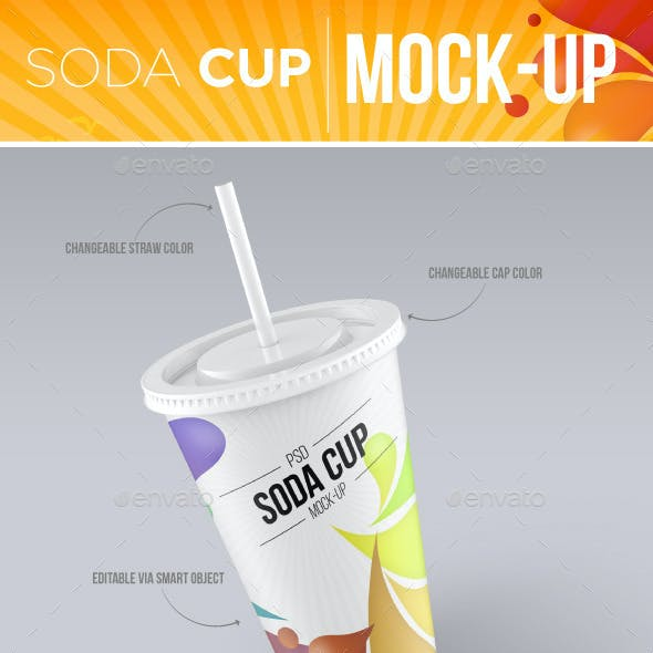 Soda Cup Mock-Up