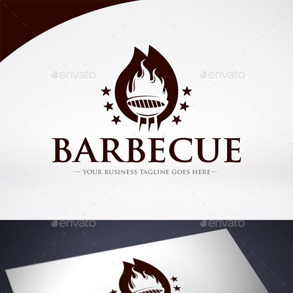 Barbecue Logo Template