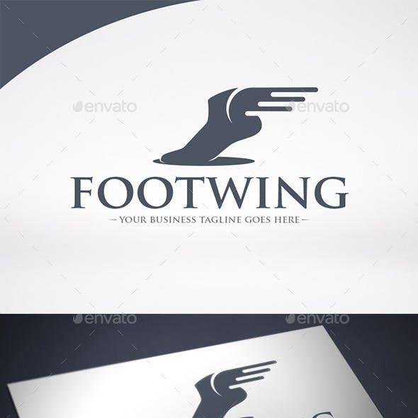 Foot Wings Logo Template