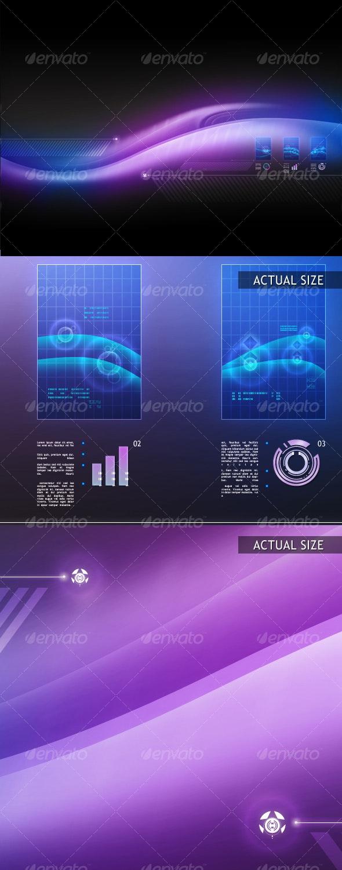 DataFlow - Backgrounds Graphics
