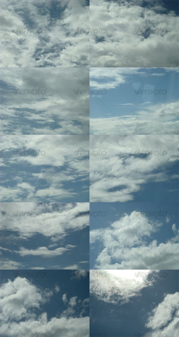 Clouds 3 - Miscellaneous Textures