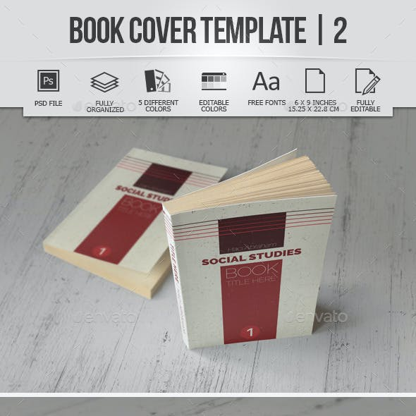 Book Cover Template | 2