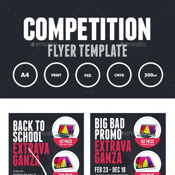 Competition Prize Flyer