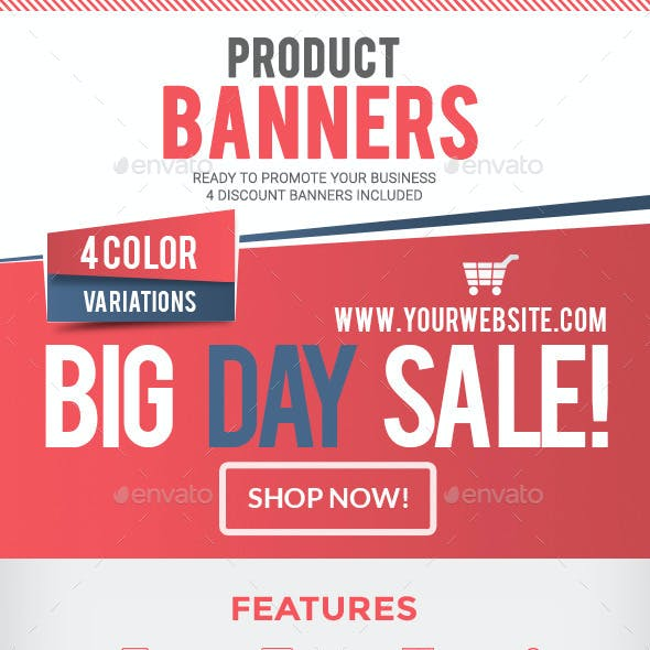 Product Retail Banners