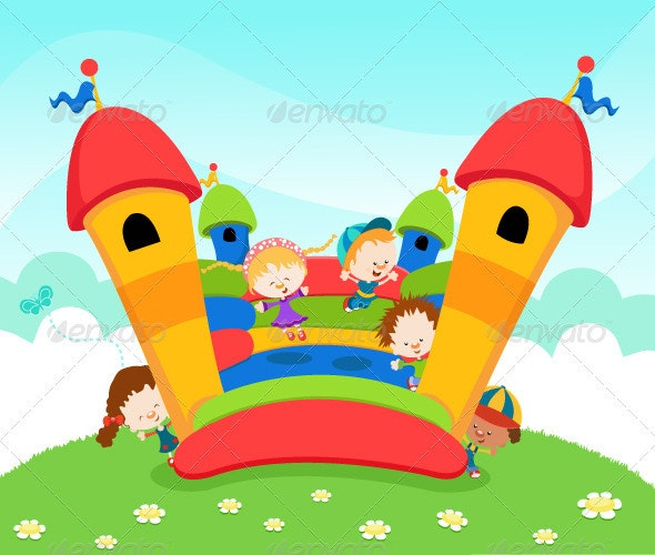 Bouncy Castle - People Characters