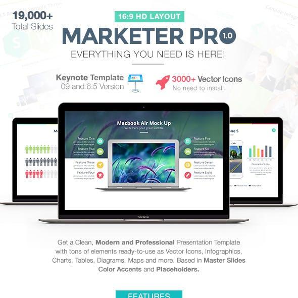 Marketer Pro Keynote Template