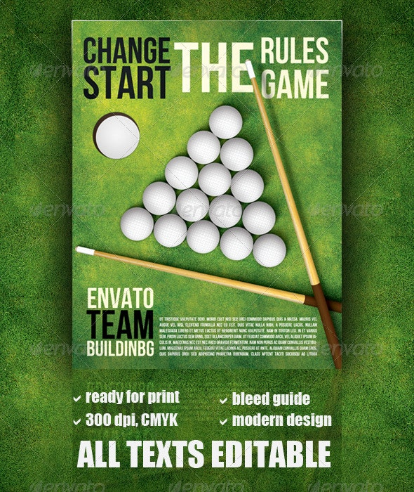 Change the Rules - Sports Events