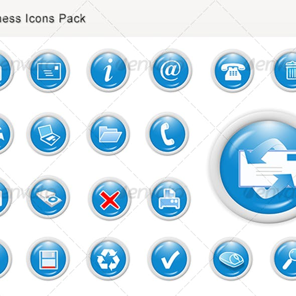 Business Web Icons for Websites