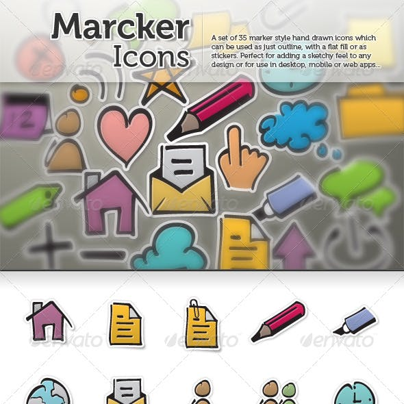 Marcker Icons