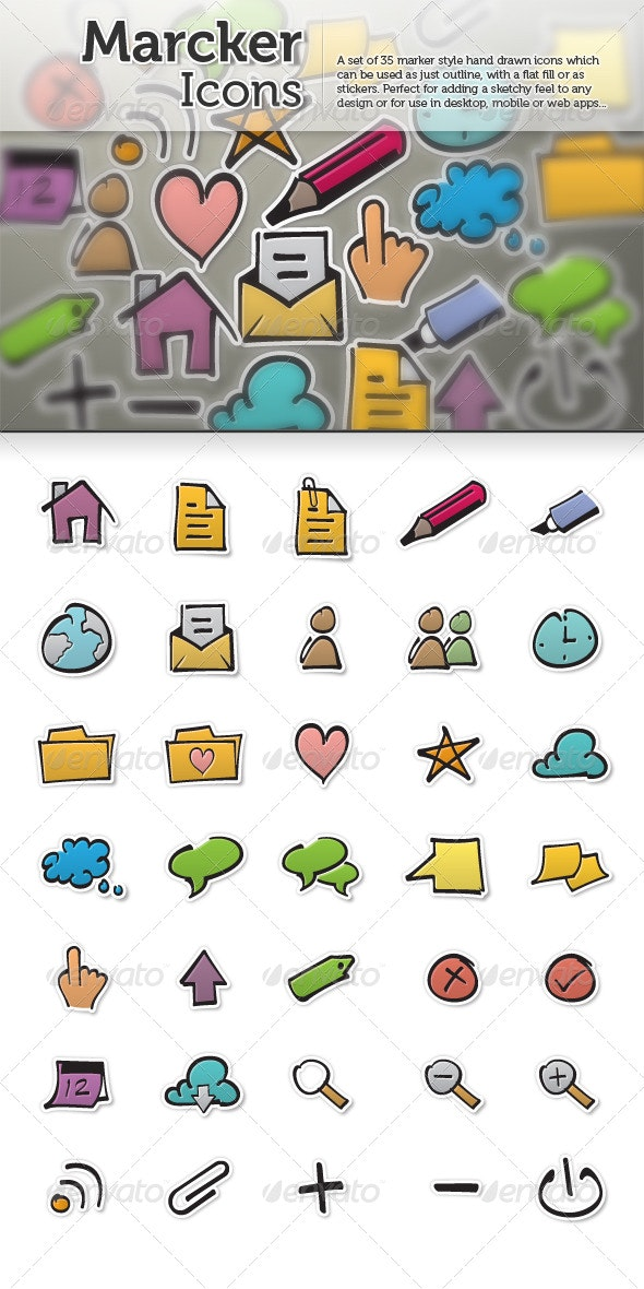 Marcker Icons - Miscellaneous Icons
