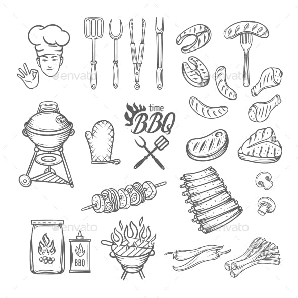 BBQ Feast Party Set