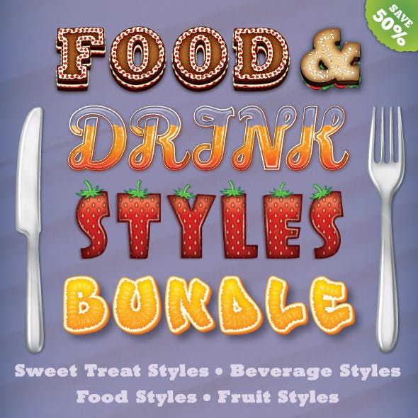 Food and Drink Styles Bundle