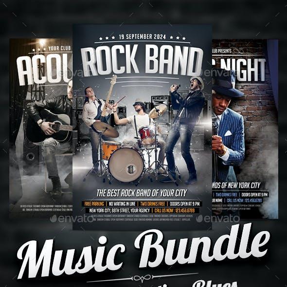 Music Flyers Bundle