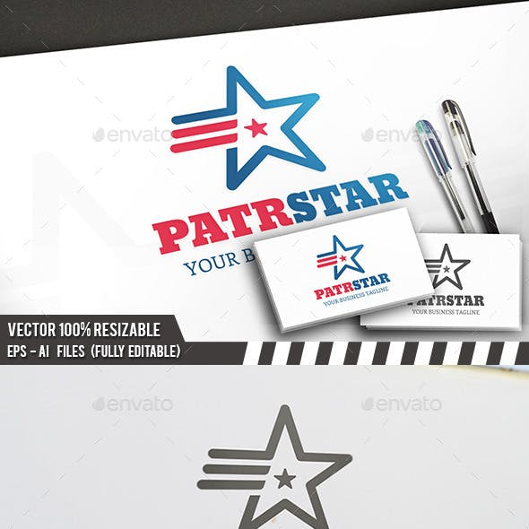 Patriot Star Logo