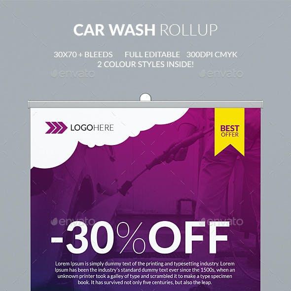 Car Wash Rollup