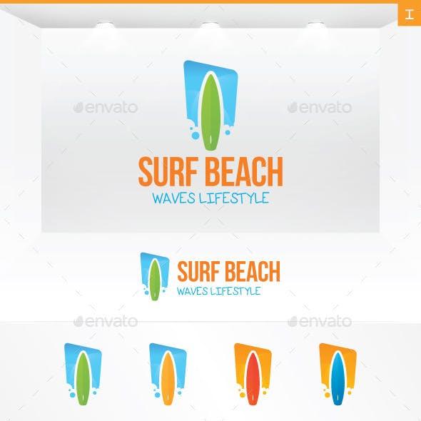 Surf Board Logo