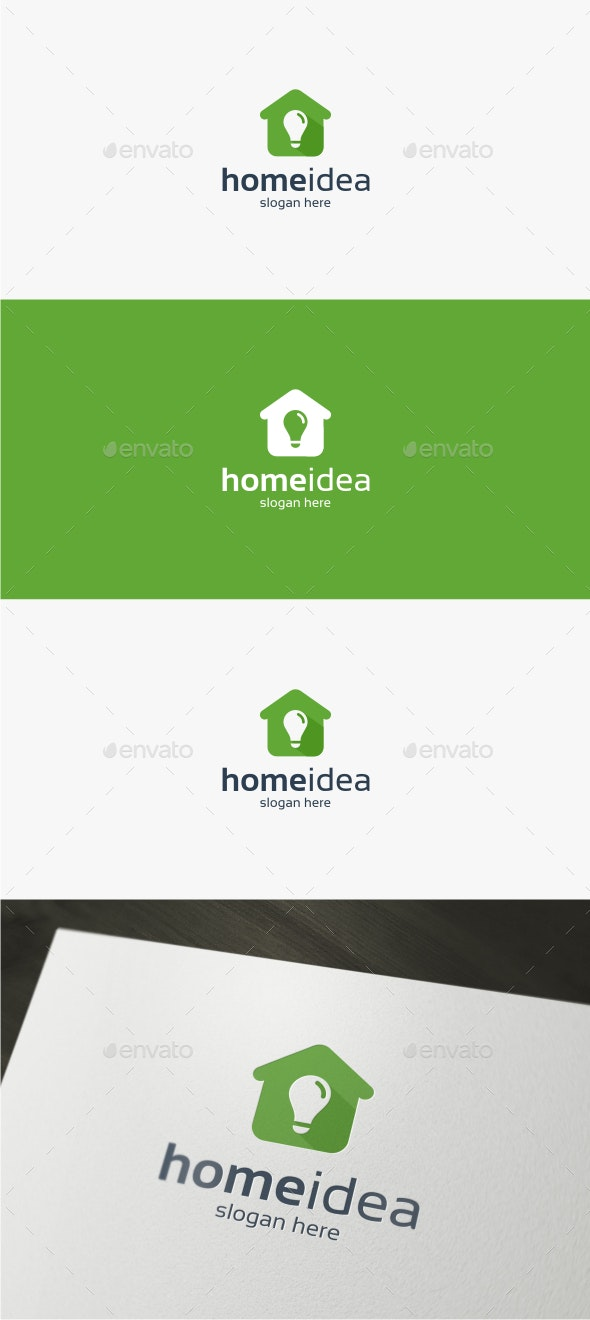Home Idea Logo Template