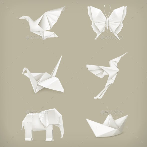 Origami Animals Icons
