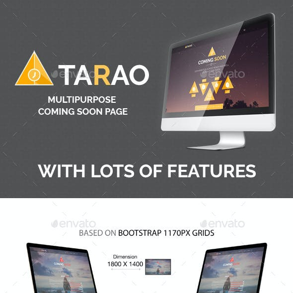 Tarao Coming Soon Pages Vol 1