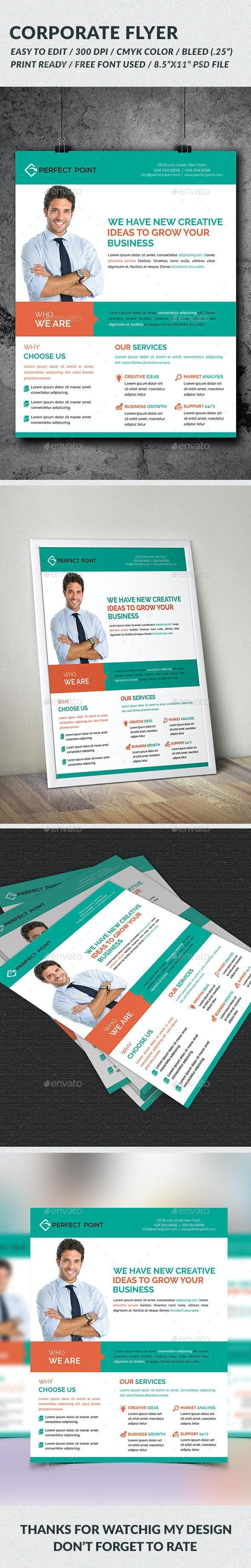 Corporate Flyer - Flyers Print Templates