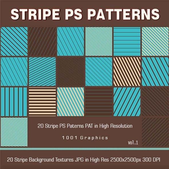 20 Sripe PS Patterns PAT
