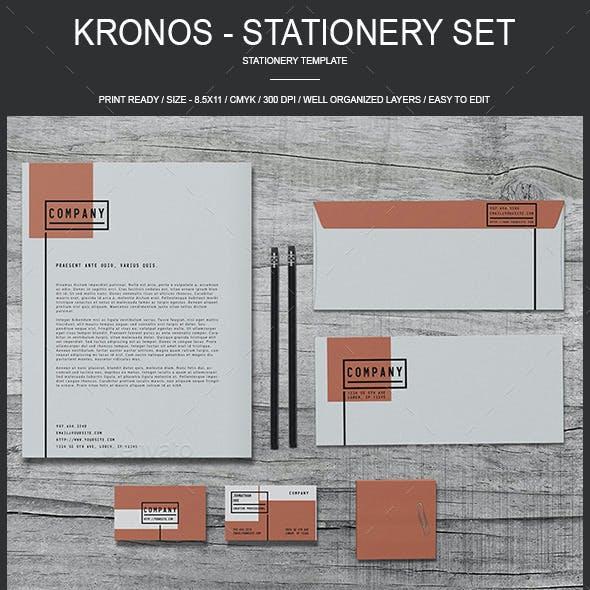 Kronos - Stationary Set