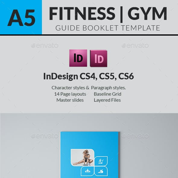 Fitness Lovers Guide Book Template