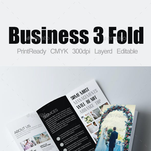 Wedding Business Tri Business Brochure